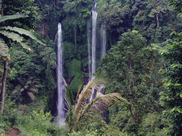 Sekumpul Waterfall, Seventh Point Waterfall in Bali