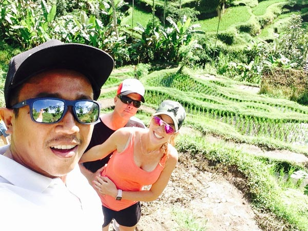Bali Tour with Lovely Honeymoon Couple Darren Palmer and Danni Palmer