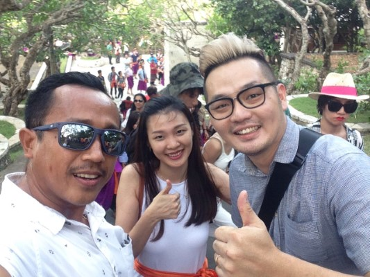 Three Great Days for Bali Tour with Andy and Sally from Singapore