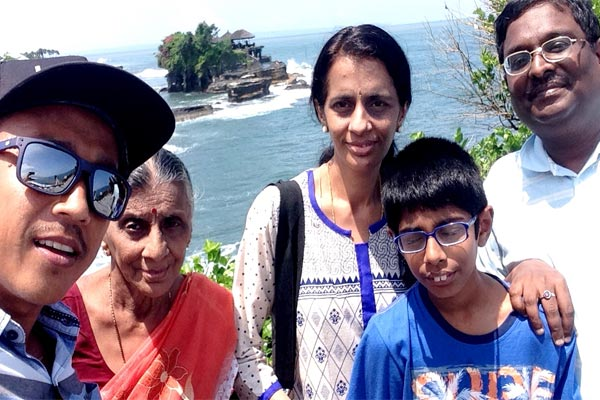 Namaste, One day with Krisna indian family's