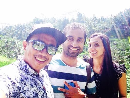 Wonderful day with india honeymoon couple Philip & Nethu