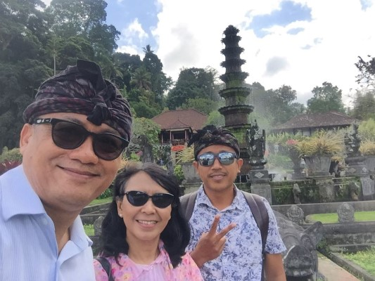 Two days Bali tour with my loyal customer Mr.Sudjarwo & Mrs.Setyowati