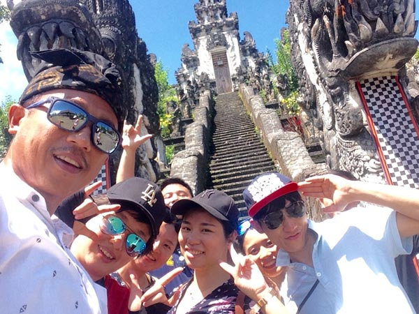 East Bali tour with Wei Jin Hua and friends