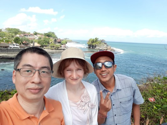 Beautiful Bali Full Day Tour with Eiffel and Jenny from Germany