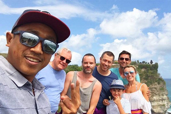 Amazing day tour in Bali with Chris and family